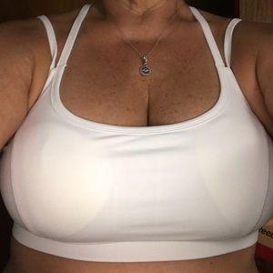 0833200f07 Reebok Intimates   Sleepwear - Reebok white Victor bra M